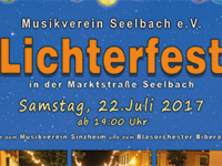 Lichterfest in Seelbach